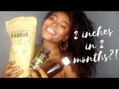 Hi loves, NanaYaa Tresses here. In this video i show you how i grew using Beautifully Bamboo hair vitamins and beauty tea as well as my Bamboo Hair Products, Hair Vitamins, Relaxer, 2 Months, Diy Hairstyles, Let It Be, Make It Yourself, Natural, Youtube