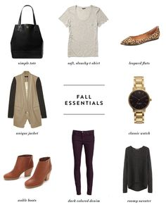 dreams + jeans - Blog - currently coveting: fallessentials