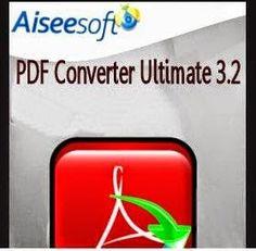 Aiseesoft PDF Converter Ultimate adalah sebuah software yang memungkinkan kita untuk melakukan konversi dokumen PDF ke berbagai format teks populer seperti convert PDF to MS Word, PDF ke Exel, PDF ke format html dan banyak lagi yang lainnya. Software ini sangat mudah digunakan dan tak membutuhkan waktu lama untuk segera akrab dengannya.