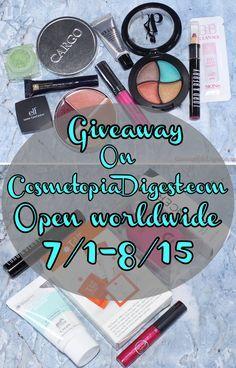 July Beauty Giveaway: Open Worldwide