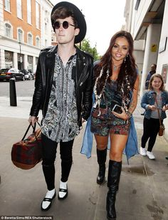 Young love: Jesy is engaged to Rixton rocker Jake Roche and is in the midst of planning th...