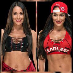 Bella Sisters, Jake Paul Team 10, Gorgeous Ladies Of Wrestling, Famous Twins, Nikki And Brie Bella, Bella Beauty, Wwe Women's Division, Wwe Female Wrestlers, America Girl
