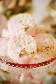 rice crispy treats ideas | Fancy rice krispie treats! | Party & Entertaining Ideas