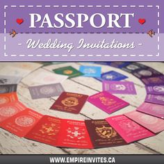wedding invitations by Empire Invites ☀️ Passport wedding invitations for a destination wedding in paradise!☀️ Passport wedding invitations for a de. Wedding Invitations Canada, Passport Wedding Invitations, Wedding Invitation Design, Wedding Stationary, Invites, Cruise Ship Wedding, Punta Cana Wedding, Wedding Abroad, Love Is In The Air