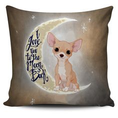 Super Limited - Chihuahua Lover Pillow