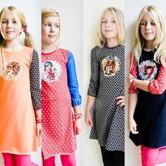 Kleurrijke collecties voor trendy meisjes verkrijgbaar bij www.birdyblues.nl