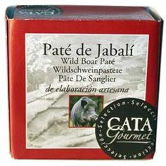Paté de jabalí 100 g El paté de jabalí de Cata Gourmet es un paté cremoso y suave, elaborado con carnes de jabalí asturiano al modo tradicional. http://www.selectosfragola.com/product/260/0/0/1/Pate-de-jabali-100-g.htm