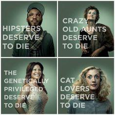 """Campaña """"Deserve to Die"""" Una campaña impactante por que nadie en realidad merece morir."""