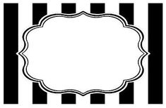 Bella Cupcake Couture Placecards, Striped Black and White Binder Cover Templates, Binder Covers, Wedding Places, Wedding Place Cards, Polka Dot Classroom, Cute Business Cards, Table Labels, Label Shapes, Cupcake Couture