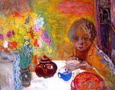 Pierre Bonnard, (Francia, 1867-1947): El desayuno.