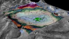 Scientists have discovered an ancient lakebed on Mars that dates to the time period when the Red Planet dried up.