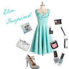 "JustShortOfCrazy: ""Elsa Inspired"" FROZEN outfit"