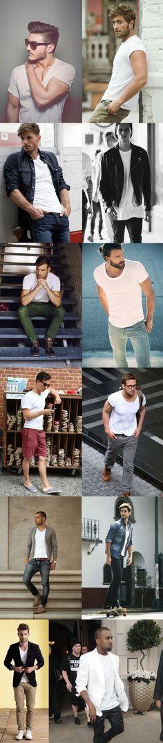 White T-Shirt Style