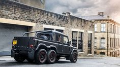 This awesome 6x6 Land Rover can be yours from £100,0000+VAT, but that only gets you a 2.2L diesel and a manual gearbox