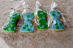 Bow Tie cookies by jennywenny, via Flickr