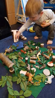 Very active jungle time! Small World Play, Role Play, Imaginative Play, Room Themes, Kindergarten, Bedroom, Staging, Room, Pretend Play