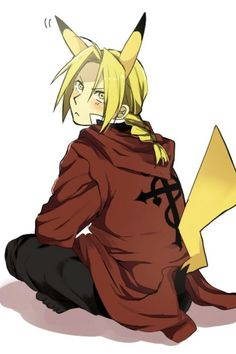 Day 7: Edward Elric is my anime crush. Do I even need to explain this one?