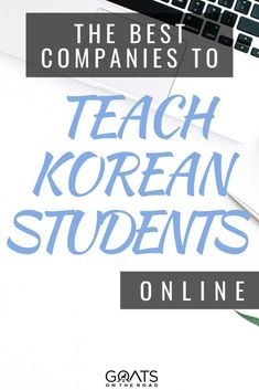 Wondering what are the companies to find work online to teach English? Here are the best companies to teach Korean students online! Make good money, while teaching English online from anywhere in the world! Find out more! | #esl #digitalnomad #onlinejob Best Online Jobs, Online Work, Teaching Jobs Overseas, Teach English To Kids, Online English Teacher, Korean Student, How To Make Money, How To Become, Teaching Positions