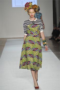 African Prints in Fashion: Stella Jean: Spring/Summer 2013 - Sticking to Prints