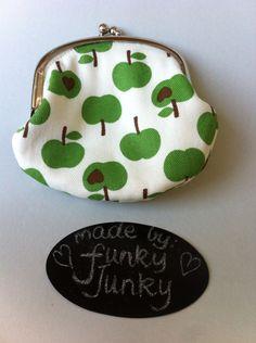 Apple coin purse