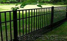Aluminum Fence Dog Panel | Puppy Pickets | Pet Fencing