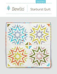 Starburst Quilt pattern $9.00 on Craftsy at http://www.craftsy.com/pattern/quilting/home-decor/starburst/54020
