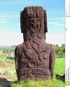 The back of a moia. Source: Easter Island Rapa Nui Moai Birdman Petroglyphs Stock Images ... www.dreamstime.com