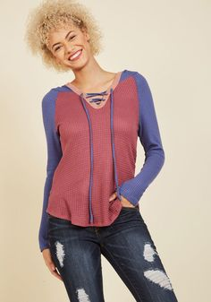 Nice and Easel Long Sleeve Top