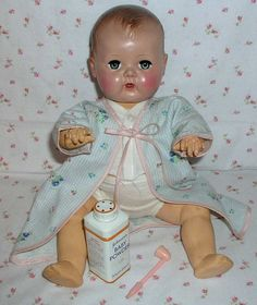 """16"""" Pre-Patent 1951 Tiny Tears Doll with EARLY Rare Dress Set ~ I'll have to look through my things because I may have the dress set."""