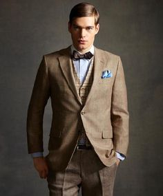 This brooks brothers suit!!