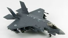 Hobby Master F-35A Lightning II F-001, Royal Netherlands Air Force Diecast Aircraft.