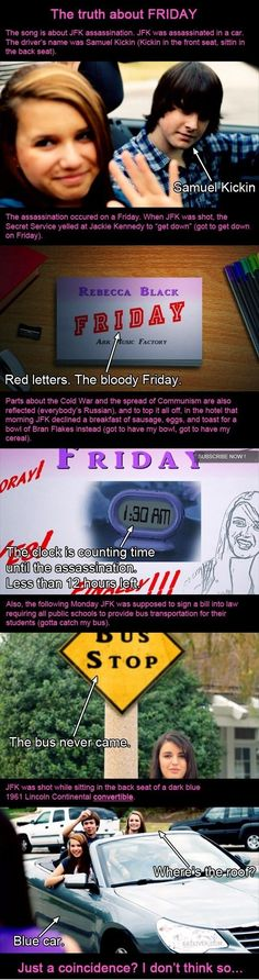 The truth about Friday. JJAJAJA...SIMPLEMENTE RIDICULO