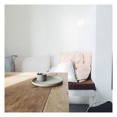 Linen pillows from pantoufle-design.nl