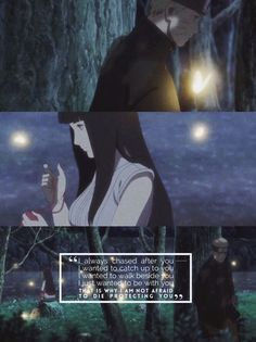 "khenhs — ""As long as i'm with Naruto, anywhere is fine"" —. Boruto, Hinata Hyuga, Naruhina, Naruto Shippuden Characters, Naruto Shippuden Anime, Anime Naruto, Sarada Uchiha Wallpaper, Naruto Wallpaper, Naruto Family"