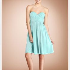 Last Chance Donna Morgan Silk Strapless Dress