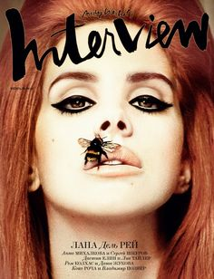 Lana Del Rey covers Interview Magazine