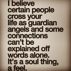 It's a soul thing.