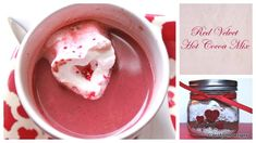 Red Velvet Hot Cocoa Mix
