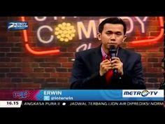 Erwin ~ Stand Up Comedy Terbaru 2015 Metro TV FULL