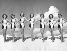 Vintage Beach Beauties, Pinterest Vicki Archer