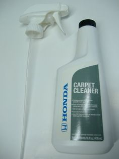 Honda Genuine Carpet Cleaner - 08700-9216 Does not contain any harsh or caustic chemicals. Contains a spot blocker to help prevent future spotting. Low odor, low VOC formula. Will not fade or stain most carpets.  #Honda #AutomotivePartsAndAccessories