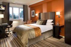 High Quality Wandfarbe In Orange Für Ein Schlafzimmer Nice Look