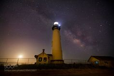 Night sky @ Pigeon Light House  Camera: Canon EOS 5D Mark III Lens: EF16-35mm f/2.8L II USM Focal Length: 16mm Shutter Speed: 24sec Aperture: f/2.8 ISO/Film: 1250  Image credit: http://ift.tt/1TyUlKw Visit http://ift.tt/1qPHad3 and read how to see the #MilkyWay  #Galaxy #Stars #Nightscape #Astrophotography
