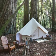 Camp comfortably with Shelter Co.'s Meriwether rugged but luxe canvas tent