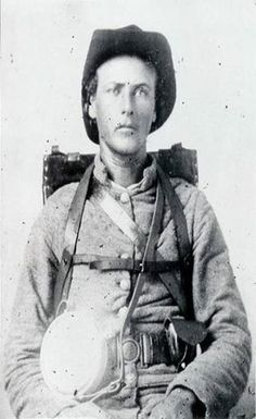 Unknown member of the 6th Georgia Infantry  Company H The Baker Fire eaters.