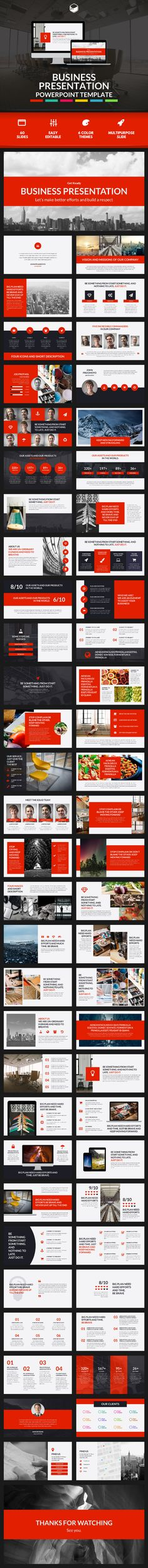 Business Presentation 2 - PowerPoint Template - Business PowerPoint Templates