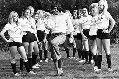 Georgie loved the ladies