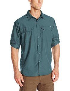 Cover: Columbia Sportswear Men's Silver Ridge Long Sleeve Shirt, Everblue.