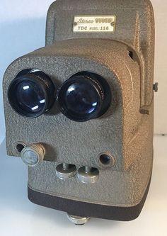 Vintage TDC Stereo Slide Projector VIVID Model No. 116 Works Original Box   | eBay