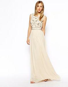 Image 4 ofASOS Embellished Shell Maxi Dress